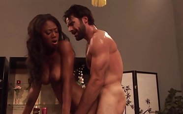 Ebony Masseuse Wants To Fulfil Jobmp4 - charles dera