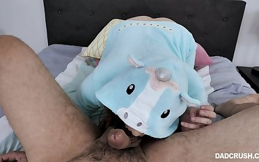POV sheet be fitting of Stephie Staar getting her pussy and mouth fucked