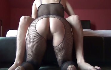That was breathtakingly hot watching the dick work become absent-minded pussy doggy style