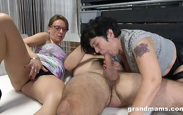 Matures portion a big dick in ways they never experienced before