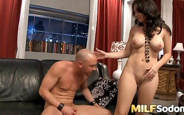 MILF Holly West Has Her Ass Stretched