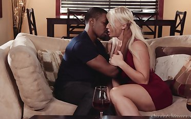 Black man puts the huge dick he has to work this MILF big time