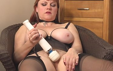 mature hairy and busty mom needs a in agreement fuck