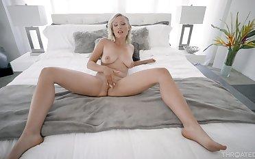 Super dampness bedroom POV helter-skelter a sensational wife