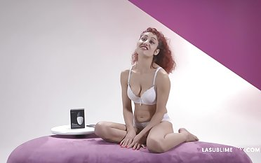 X-rated redhead Dana Santo loves to test new sex toys be worthwhile for you