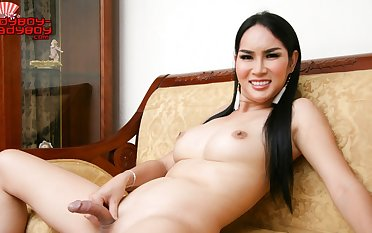 At one's fingertips Strokes Her Tool - Ladyboy-Ladyboy