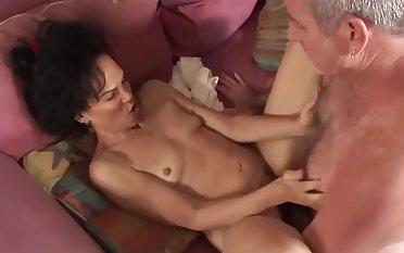 Hairy pussy mature ebony interracial bill