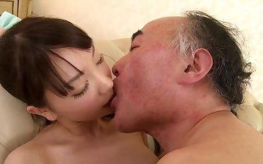 Koharu Suzuki in action