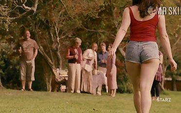 Curvy cinema star Gemma Arterton flashing her titties in a sexy compilation