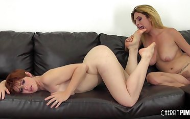 Amateur video of three matures having mating - Ashlee Graham & Lily Cade