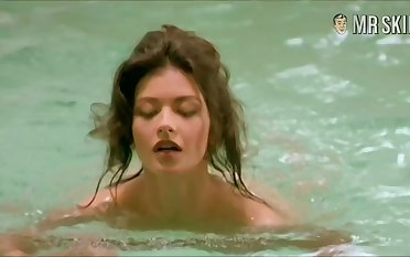 Catherine Zeta-Jones exposed scenes compilation videotape