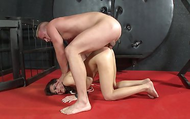 Inferior anal sex by way of bitter BDSM for the petite angel