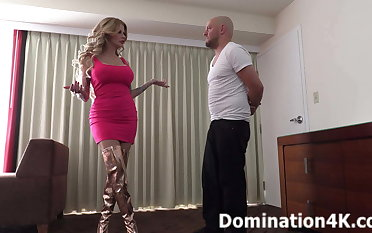 Joslyn James will BUST balls