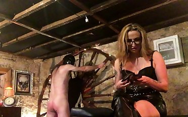 More Fun With Spanky bdsm bondage slave femdom domination