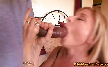 Astonishing, mature blonde, Nina Hartley likes take essay sex with a black guy, once in after a while