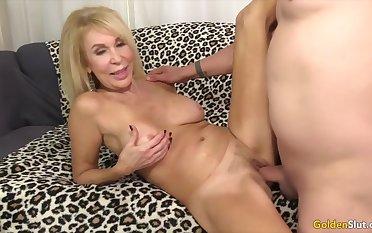 Golden Slut - Stunning Grown-up Blondes Getting Drilled Compilation Part 7