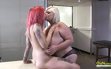 OldNannY British Adult and Lesbian Striptease