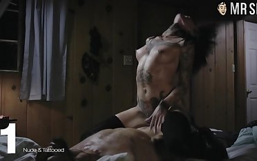 Gorgeous well atmosphere sexy lady Angelina Jolie is made for explicit bed scenes