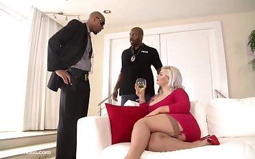fat anal interracial