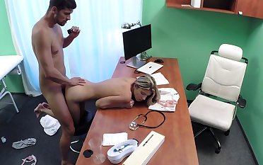 Young Russian Gina Gerson puts the brush faith in the wrong doctor