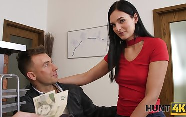 Stranger offers money of sex with pretty girlfriend