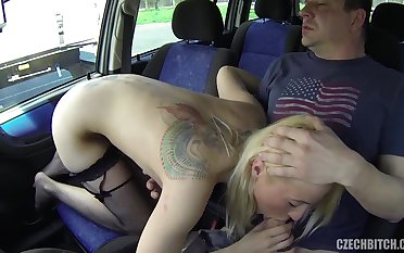 Shagging About A Bitch In The Car