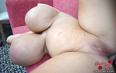 3500cc Claudia Marie Fucked Apropos Her Fat Cellulite Ass By Black Guy