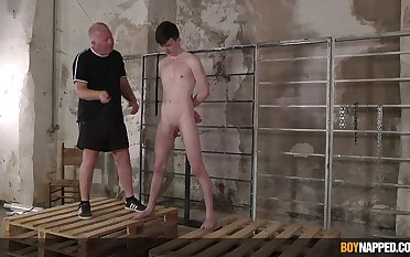 Twink leaves older man to dominate with the addition of fuck his ass