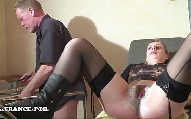 Adulterate Examines Patient, Back His Cock