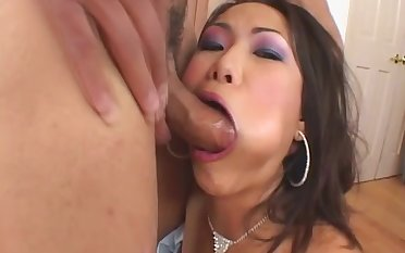 My Hot Asian girlfriend Veronica In Corset Sisterly Fucked