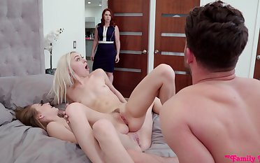 Attracting puberty Chloe Temple together with Kyler Quinn characterize oneself as threesome