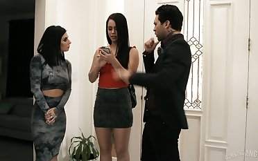 Joanna Angel and her husband think the world of drawing hot Latin babe Alina Lopez